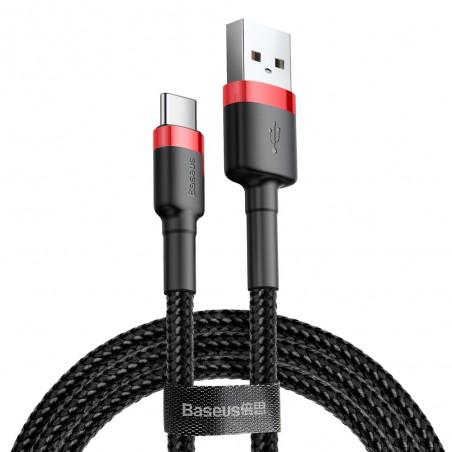 Baseus Cafule kabel przewód 1M USB-C  TYP-C QC 3.0